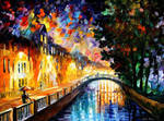 Evening Rain by Leonid Afremov
