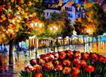The Flowers Of Luxembourg by Leonid Afremov