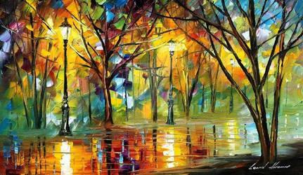 The Path To Joy by Leonid Afremov