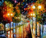 Rainy Perspective by Leonid Afremov