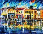 Tropical Night by Leonid Afremov