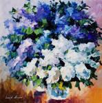 Lovely Lilacs by Leonid Afremov