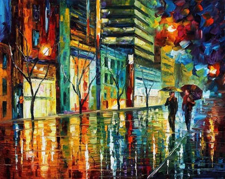 Night Jerusalem by Leonid Afremov