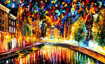 Coming Back.... Amsterdam by Leonid Afremov