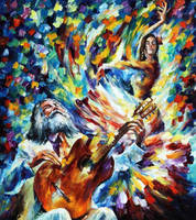 Latin Mood by Leonid Afremov by Leonidafremov