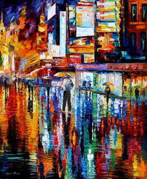 The Vibration Of The Night by Leonid Afremov