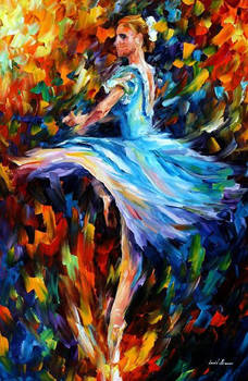 The Spinning Dancer by Leonid Afremov