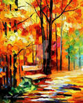 Wet Path by Leonid Afremov