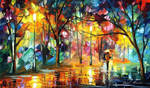 The Song Of The Rain by Leonid Afremov