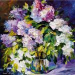 Three Colors by Leonid Afremov