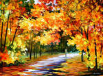 The Path Of Sun Beams by Leonid Afremov