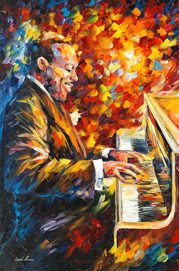 Count Basie 2 by Leonid Afremov by Leonidafremov