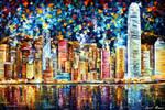 Hong Kong by Leonid Afremov