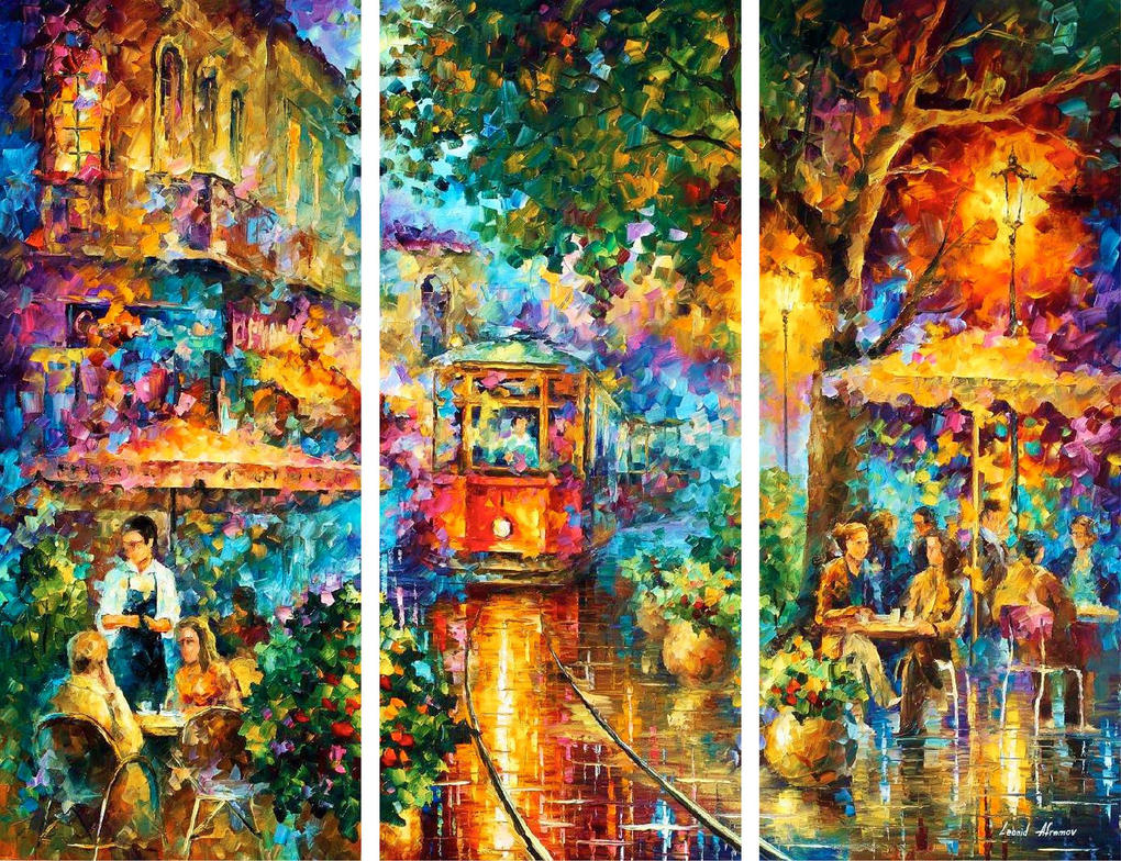 Old Magic - Set Of 3 by Leonidafremov