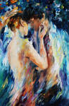 Kiss Of Passion by Leonid Afremov