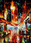 Before The Night Starts by Leonid Afremov