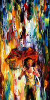 Walking On The Waves by Leonid Afremov