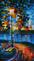 Charm Of Loneliness by Leonid Afremov by Leonidafremov