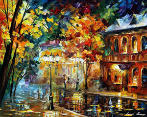 Old Moscow by Leonid Afremov