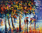 Coolness Of The Rain by Leonid Afremov