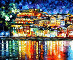 Parga, Greece by Leonid Afremov