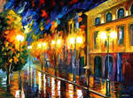 Fascination Of The Night by Leonid Afremov