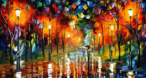 The Scent Of The Rain by Leonid Afremov