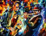 Duet by Leonid Afremov