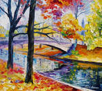 Color Bridge by Leonid Afremov