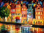 The Sky Of Amsterdam by Leonid Afremov