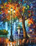 Night Aura by Leonid Afremov