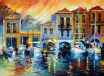 After A Day's Work by Leonid Afremov