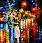 Last Kiss by Leonid Afremov