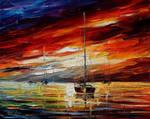 Night Sky by Leonid Afremov