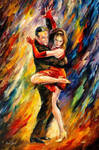 Sublime Tango by Leonid Afremov