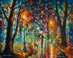 Cold Rain by Leonid Afremov