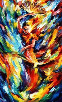 Flamenco by Leonid Afremov