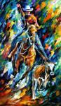 Cowboy by Leonid Afremov