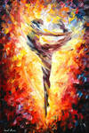 Ballet 3 by Leonid Afremov
