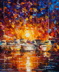 Movement Of The Sea by Leonid Afremov