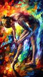 Ballerina 3 by Leonid Afremov