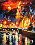 Amsterdam's Magic by Leonid Afremov