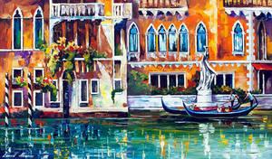 Venice Building by Leonid Afremov