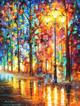Single Light by Leonid Afremov