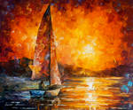 Golden Hour by Leonid Afremov