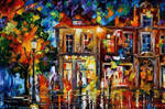 Night Imagination by Leonid Afremov