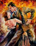 Classical Tango by Leonid Afremov