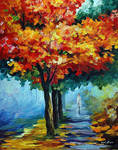 Autumn Music by Leonid Afremov