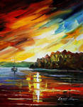 Almost Night by Leonid Afremov