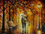 Caring For Love by Leonid Afremov